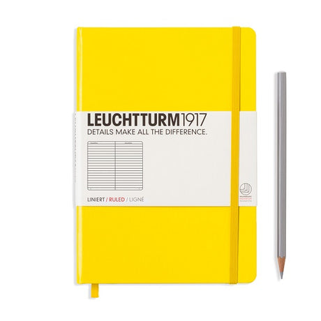 Leuchtturm A5 Ruled Notebook - Yellow