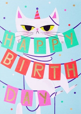 Lagom - Birthday cat
