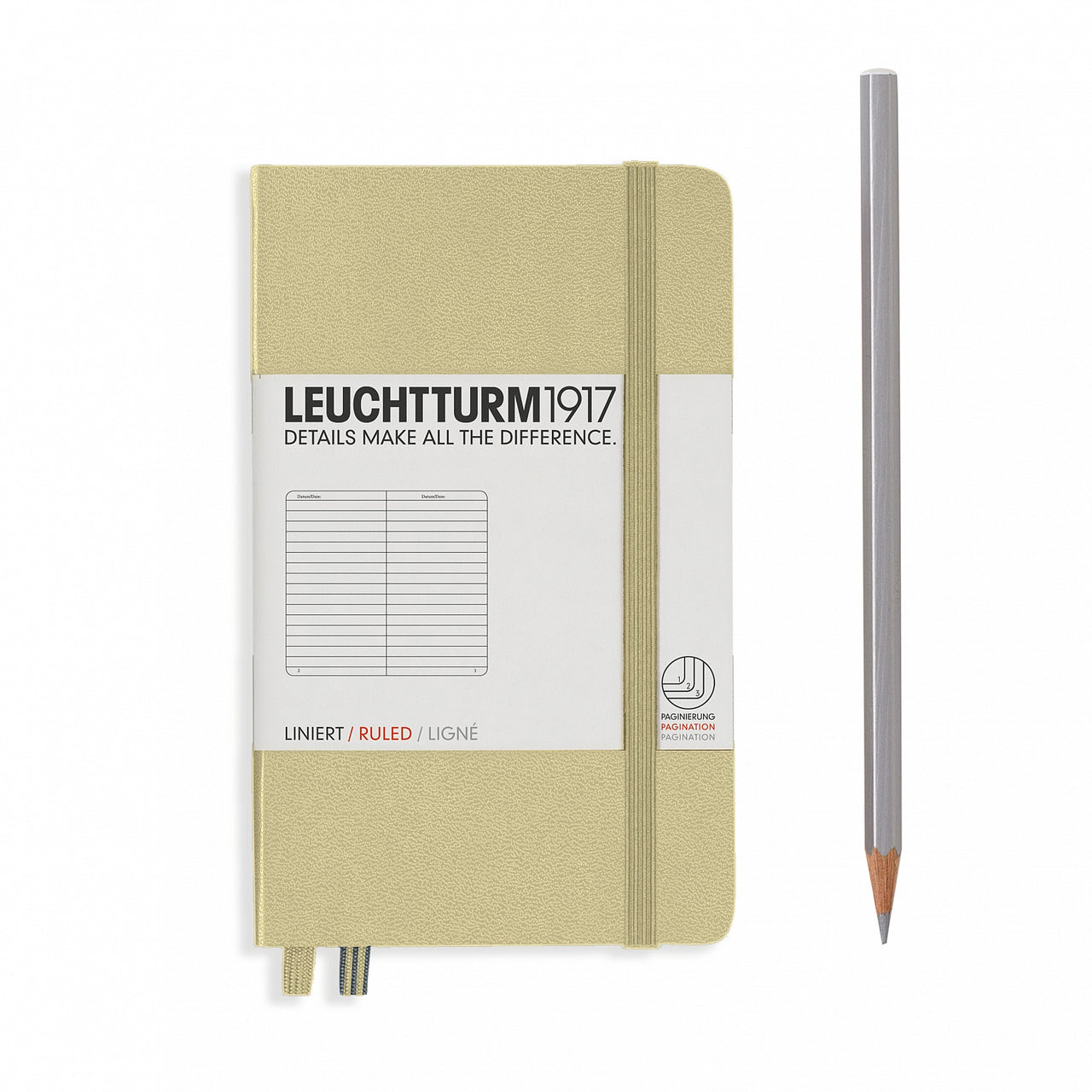 Leuchtturm A6 Ruled Notebook - Sand