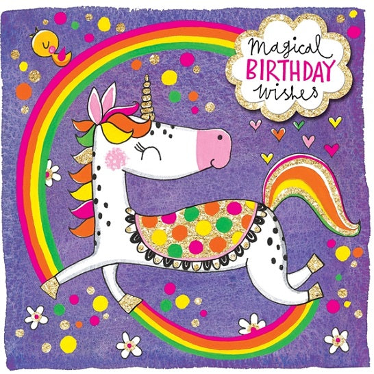 Rachel Ellen - Birthday wishes unicorn