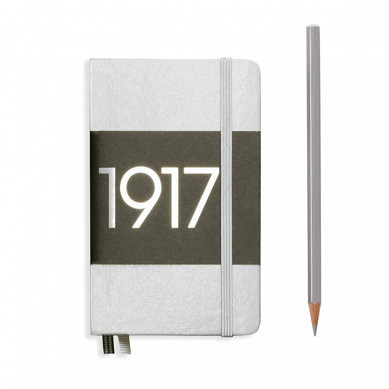 Leuchtturm A6 Ruled Notebook - Silver