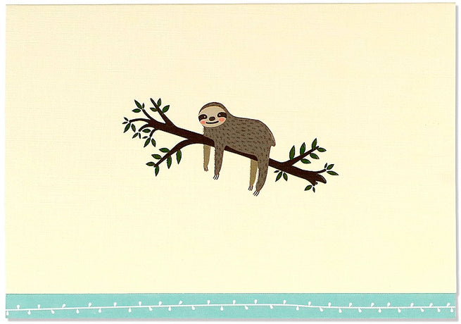 Peter Pauper - Sloth Notecards x 14