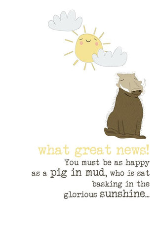 Dandelion - Great News - Pig In Mud