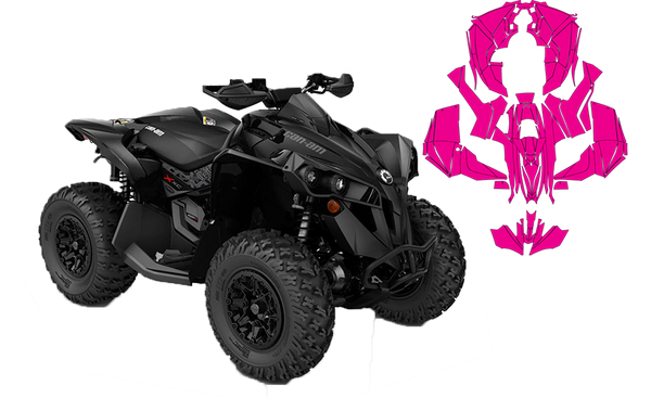 atv vector templates for all major brands polaris. Black Bedroom Furniture Sets. Home Design Ideas