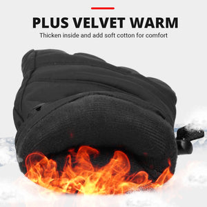 Motorcycle Gloves Heated Water-resistant Motorbike Biker Moto Gloves Winter Touch Screen Battery Powered Riding Heating Gloves