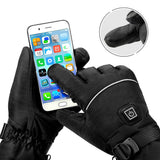 Electric Waterproof Heated Gloves with Touch Screen Sensor I MISSTUSH