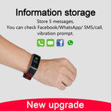 Smart Bracelet Heart Rate Monitor Waterproof Fitness Tracker Bluetooth Watch Band - KaiMax Express