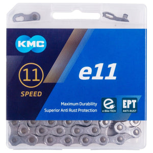 KMC e11 EPT Silver Chain for eBikes