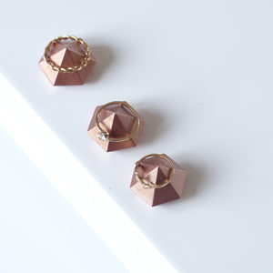 ProductImageAltText_Trio de mini diamants or rose_1