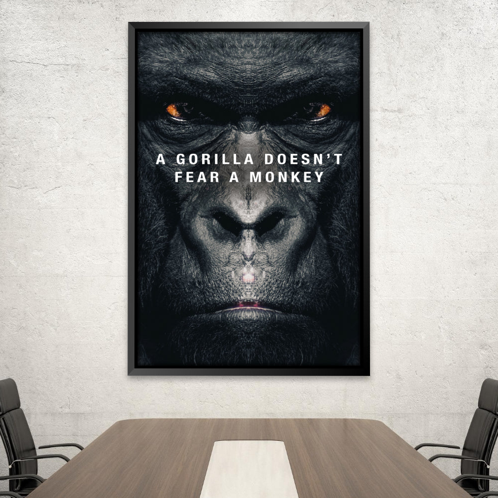Gorilla Doesn't Fear