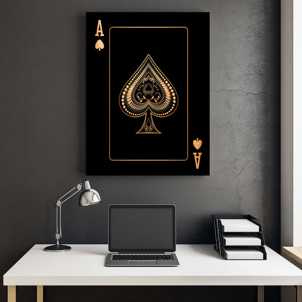 Ace of Spades - Gold