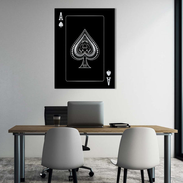 Ace of Spades - Silver