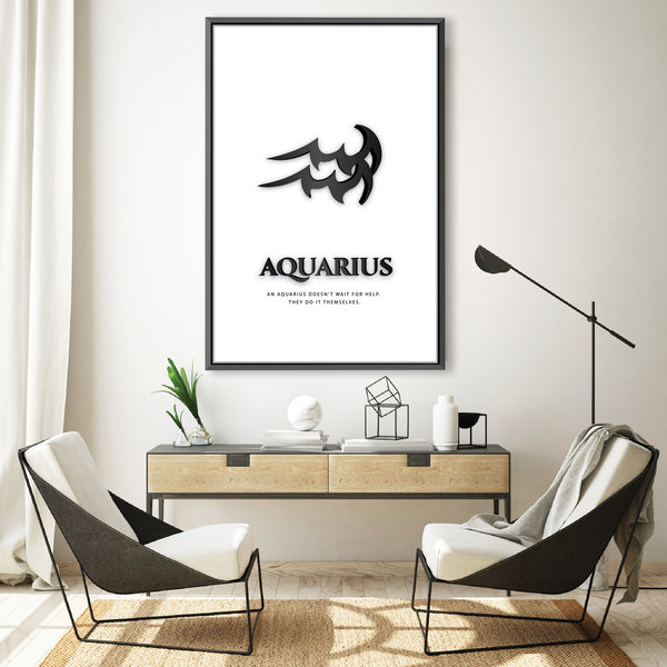 Aquarius - White