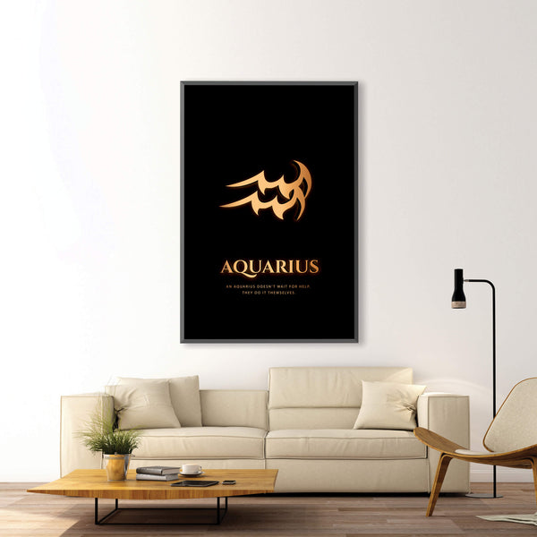 Aquarius - Gold