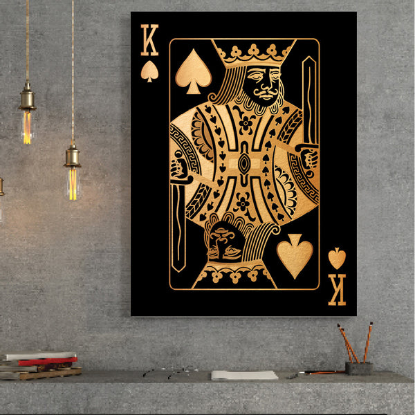 King of Spades - Gold