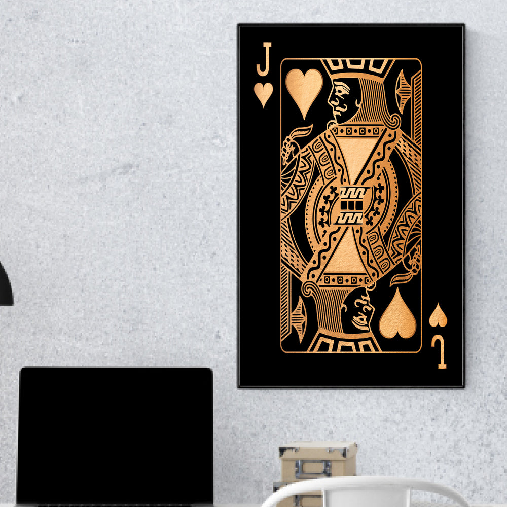 Jack of Hearts - Gold