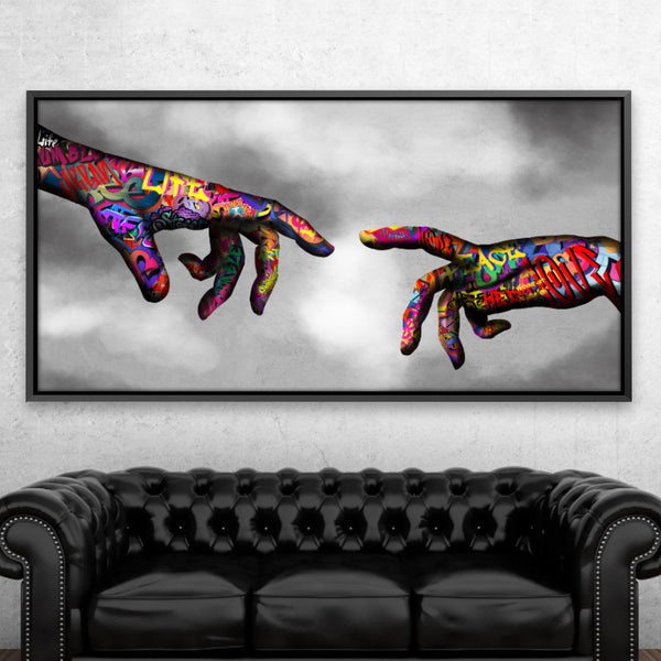 Graffiti Hand of God