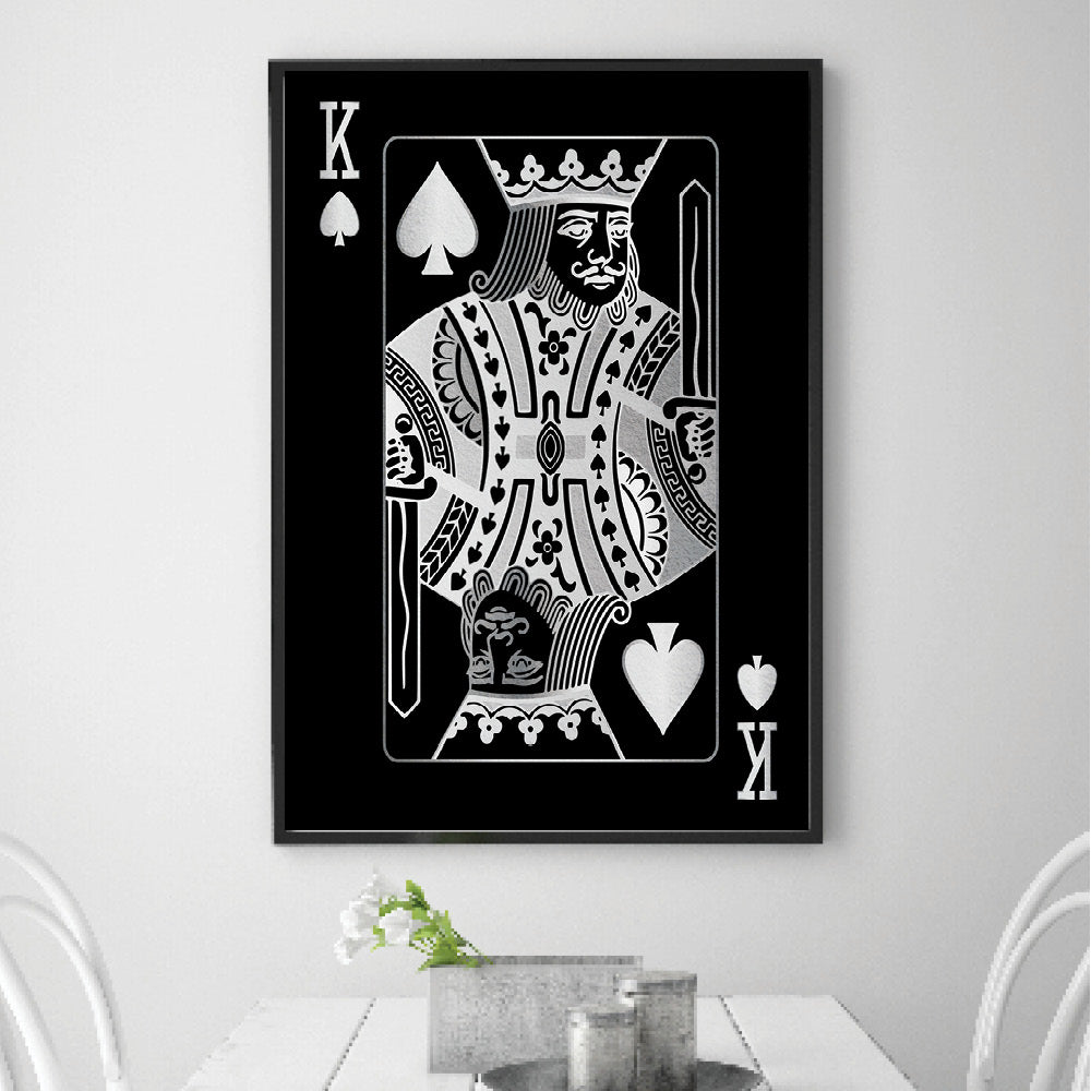 King of Spades - Silver