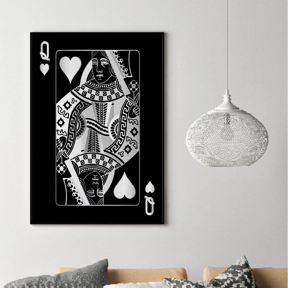 Queen of Hearts - Silver