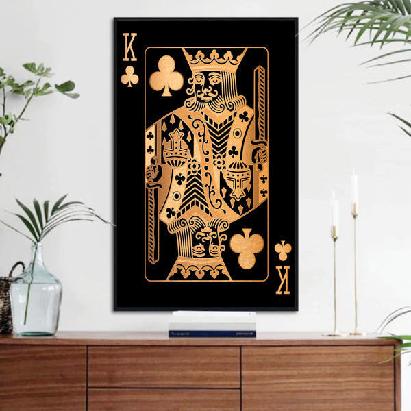 King of Clubs - Gold