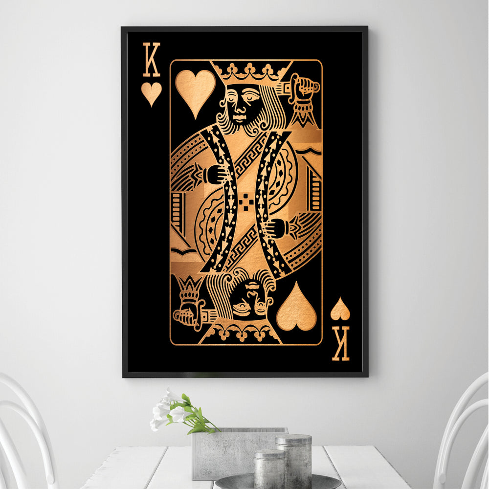 King of Hearts - Gold