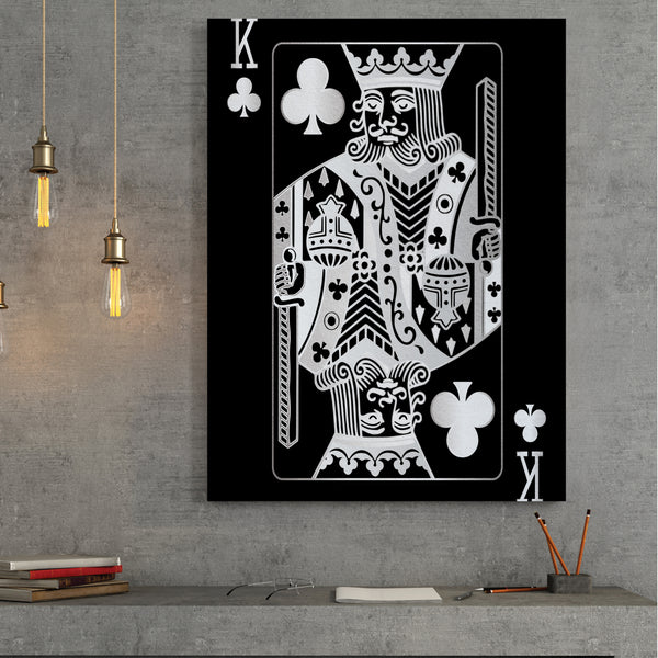 King of Clubs - Silver