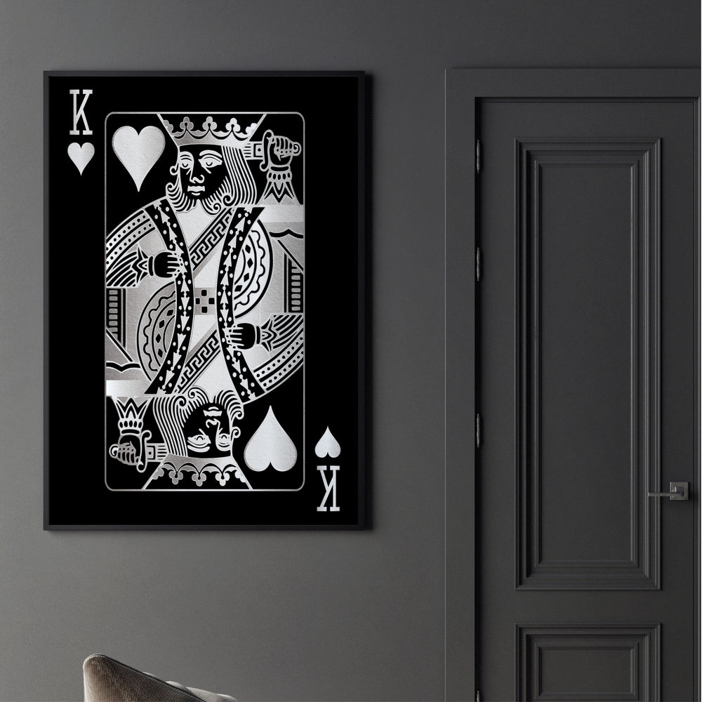 King of Hearts - Silver