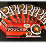 Load image into Gallery viewer, GIFT VOUCHER (10 Free Ramen Vouchers)