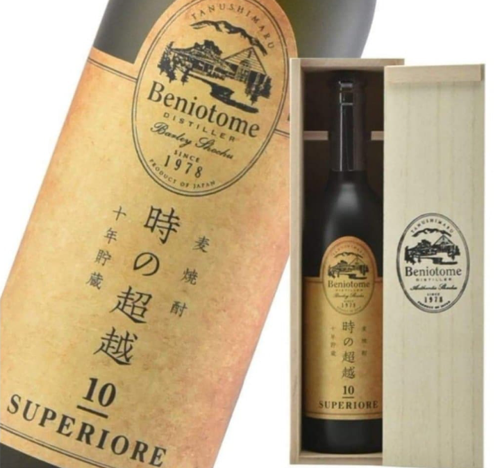 Wheat shochu  Tokinochouetsu SUPERIORE