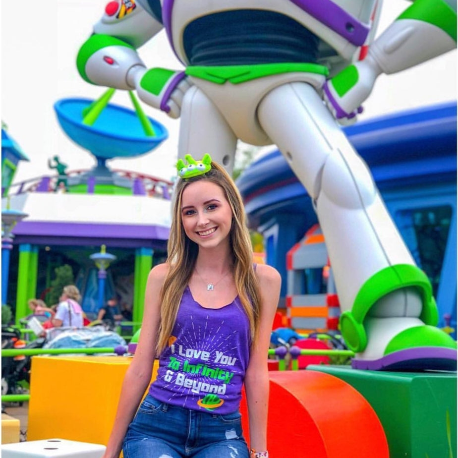 I Love You to Infinity and Beyond Tank