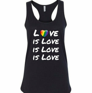 Love is Love Woman's Tank