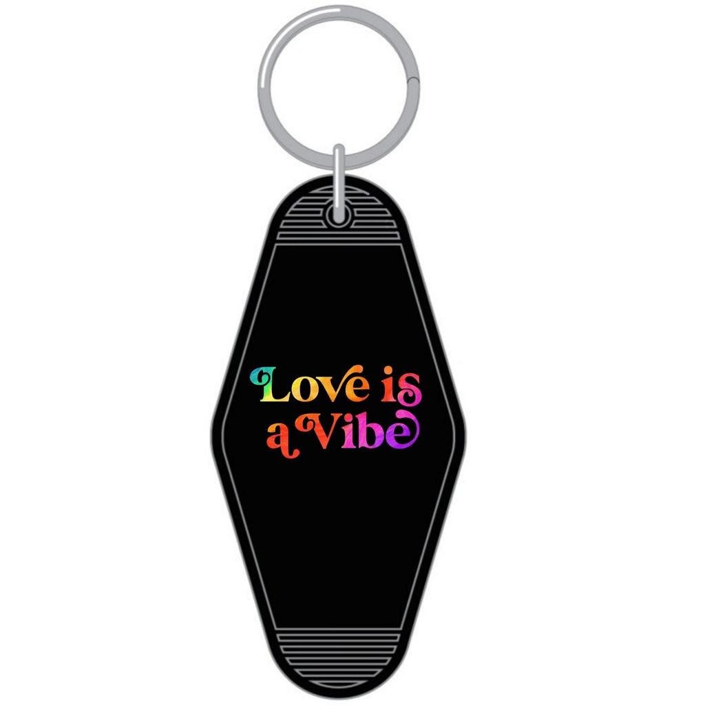Love is A Vibe Key Chain