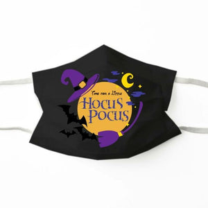 Time for A Little Hocus Pocus Face Mask
