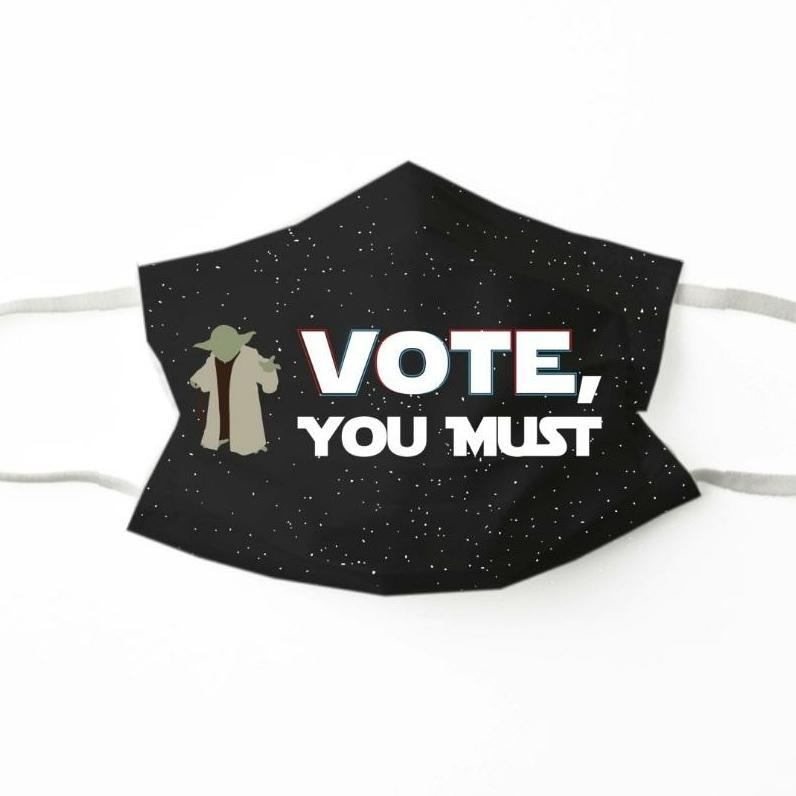 Vote You Must Face Mask