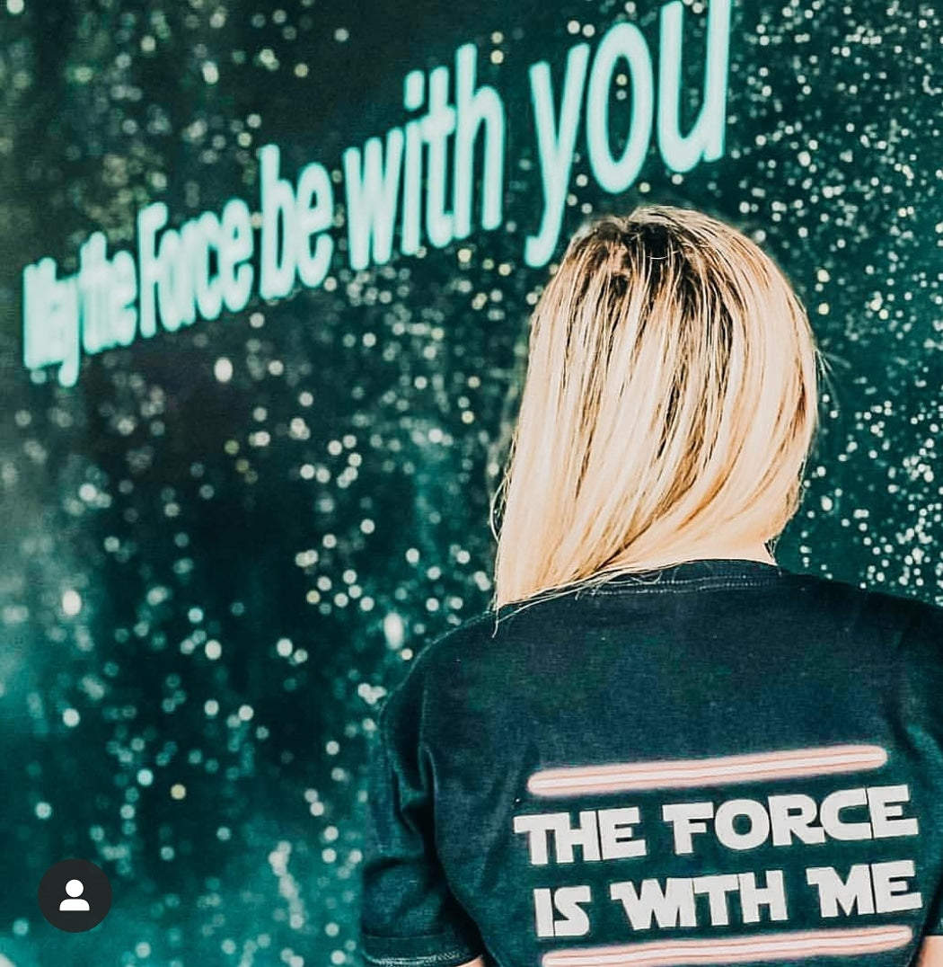 I Am One With the Force Tee