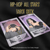 2019 Hip Hop All Stars Tarot Cards | Magic Spiritual Divination Tools for Psychic Readers | Music Entertainment Urban Rap Art Tarot Deck