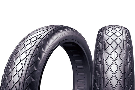 Extra tires incl. tubes