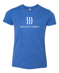 Band of Coders – Youth Crew Neck Tee Shirt (Multiple Colors)