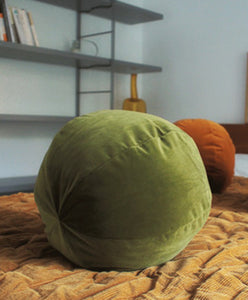 Velvet Pumpkin Pillows