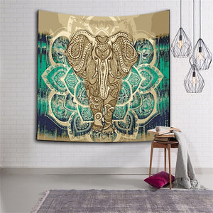 For The Love of Elephants Tapestries