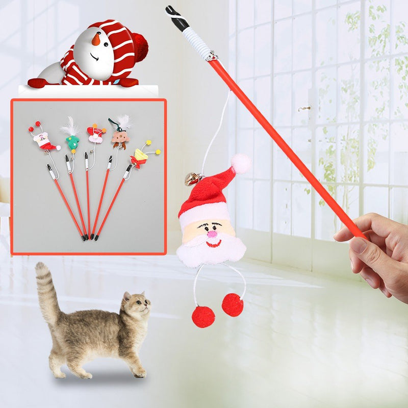 Cat toy, funny cat, new Christmas series - World Pet Lovers