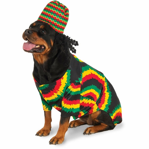 Rasta Pet Costume - World Pet Lovers