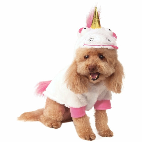 Fluffy Unicorn Despicable ME Pet Costume - World Pet Lovers