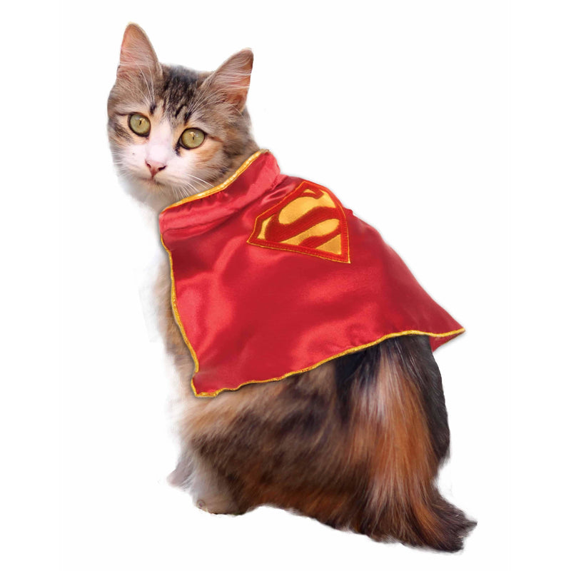 Superman Cape Cat Costume - World Pet Lovers