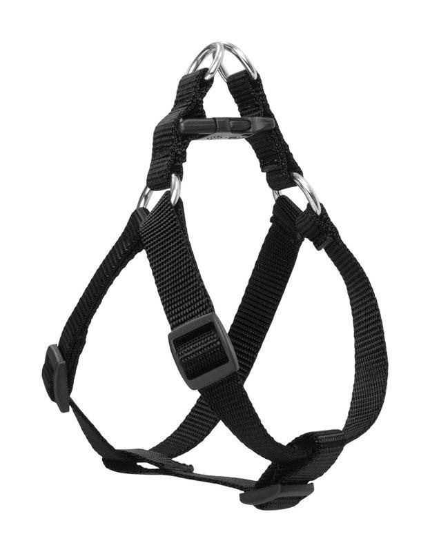 Black  Nylon  Dog  Harness - World Pet Lovers