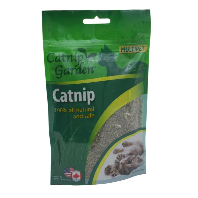 Multipet Garden Catnip 1 oz.1 pk - World Pet Lovers