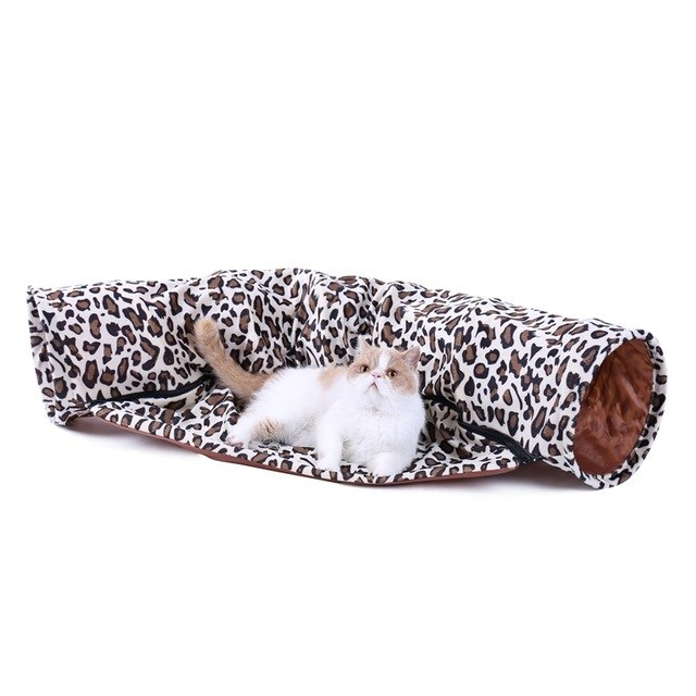 Cat Tunnel Conbine with Sleeping Bed Design - World Pet Lovers