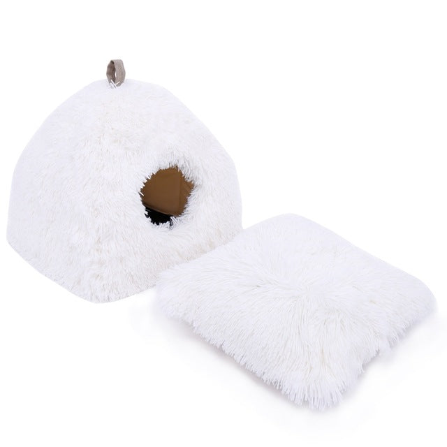 Pet Dog Bed House Warm Soft Breathable - World Pet Lovers