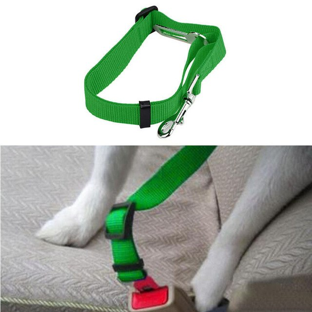 Pet Safety Vehicle Car Seat Belt - World Pet Lovers