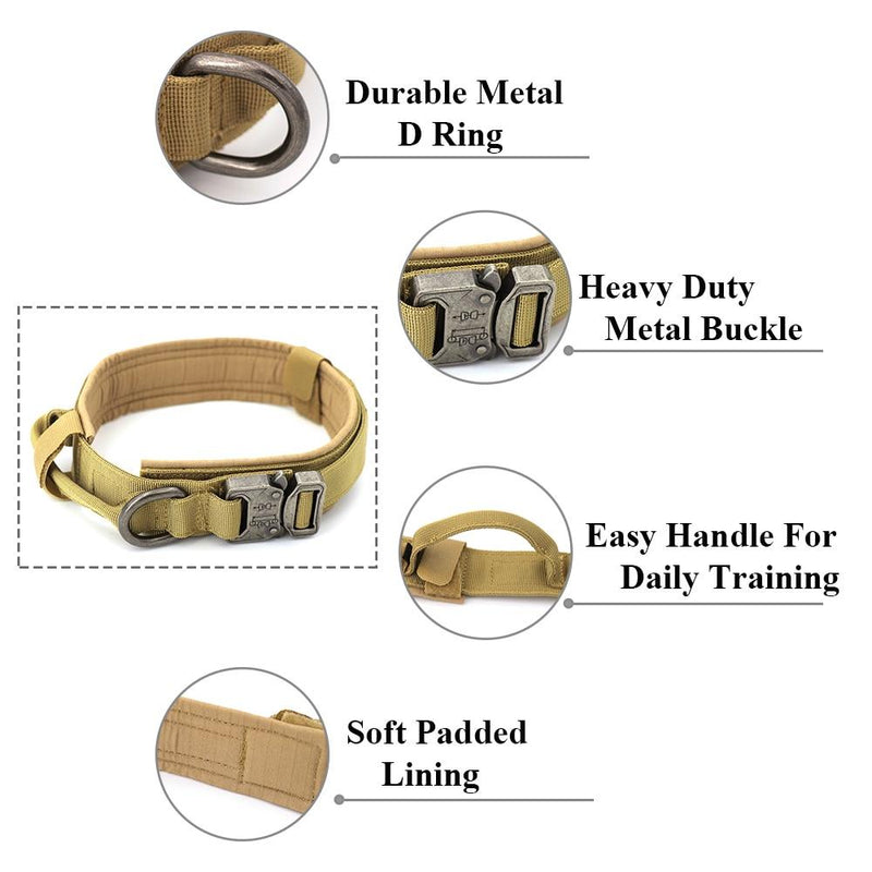 Military Grade Adjustable Dog Collar - World Pet Lovers